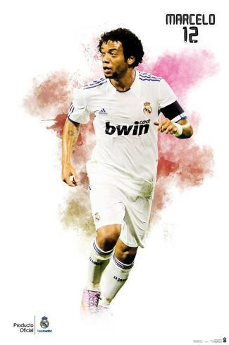 Real Madrid- Marcelo Poster