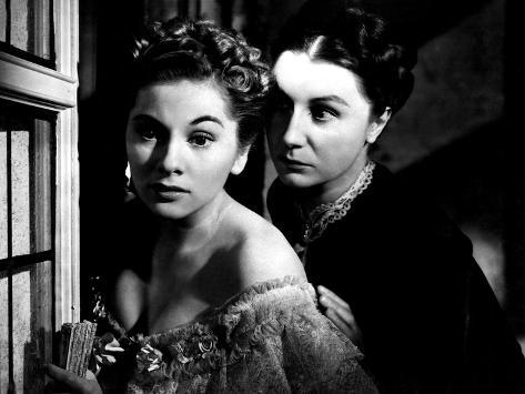 Rebecca, Joan Fontaine, Judith Anderson, 1940 Photographie