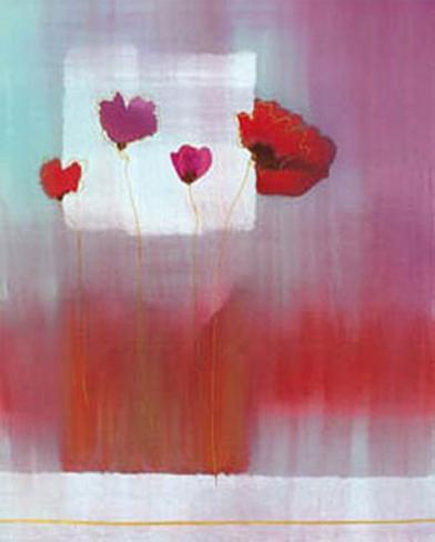 Red Spots II Reproduction d'art