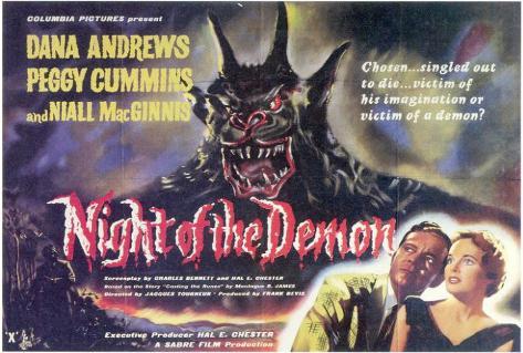 Rendez-vous avec la peur|Night of the Demon Poster
