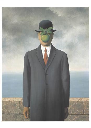 Le fils de l'homme, 1964 Reproduction d'art