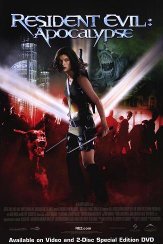 Resident Evil: Apocalypse Affiche originale