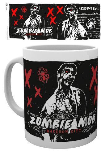 Resident Evil - Zombie Mob Mug Mug