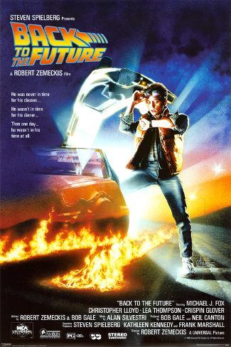 Retour vers le futur, Back To The Future, film de Robert Zemeckis Poster