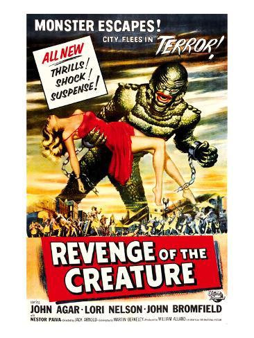Revenge of the Creature, 1955 Photographie