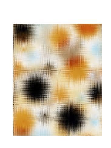 Pixilated Burst II Reproduction d'art