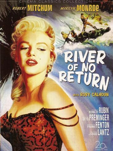 River of No Return, 1954 Reproduction d'art