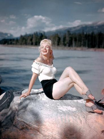 River of No Return, Marilyn Monroe, Directed by Otto Preminger, 1954 Photographie