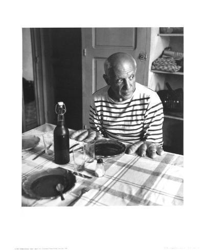 Les Pains de Picasso, Vallauris 1952 Reproduction d'art