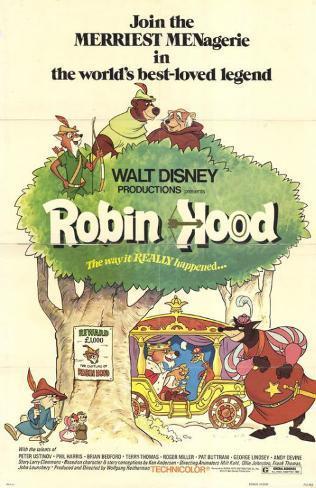 Robin des Bois Affiche originale