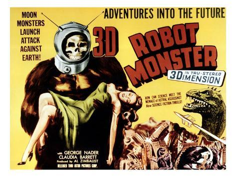 Robot Monster, 1953 Photographie