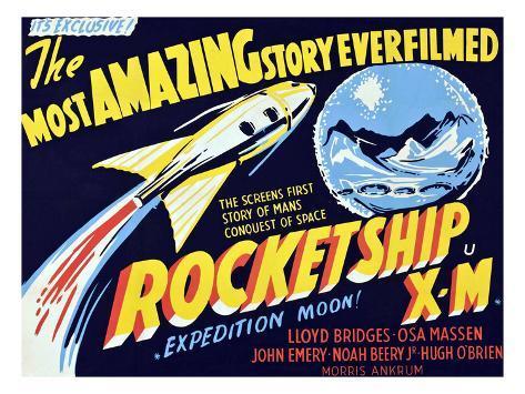 Rocketship X-M, 1950 Photographie