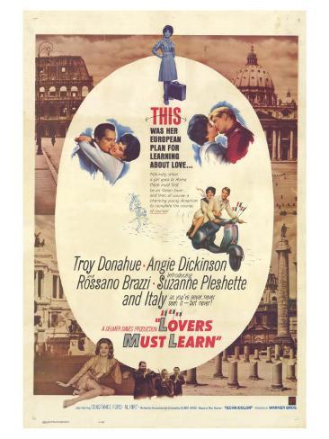 Rome Adventure, 1962 Reproduction d'art