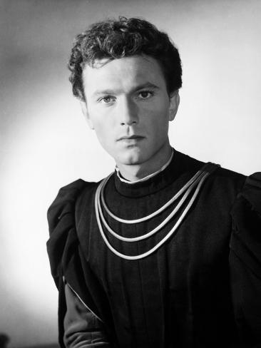 Romeo and Juliet, Laurence Harvey, 1954 Photographie
