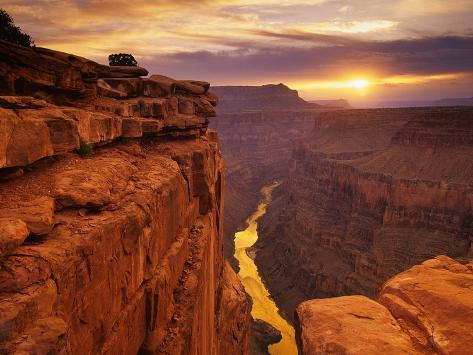 Grand Canyon vu de Toroweap Point Reproduction photographique