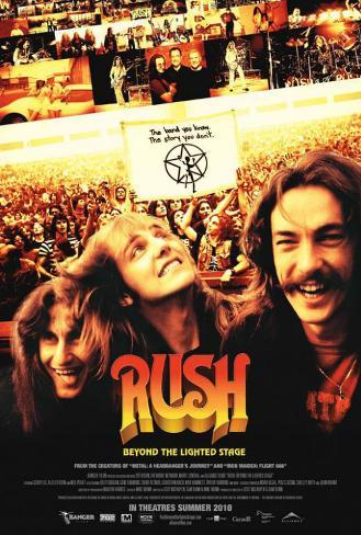 Rush: Beyond the Lighted Stage - Canadian Style Poster