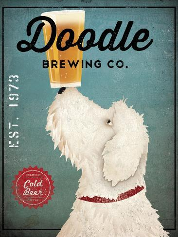 Doodle Beer Reproduction d'art