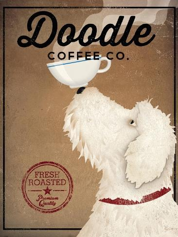 Doodle Coffee Reproduction d'art