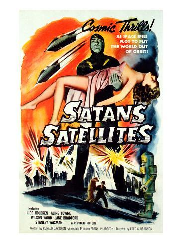 Satan's Satellites, Feature Version of the 1952 Serial Zombies of the Stratosphere, 1958 Photographie
