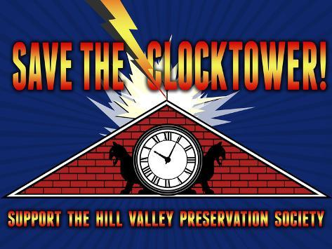 Save the Clocktower Movie Poster Poster