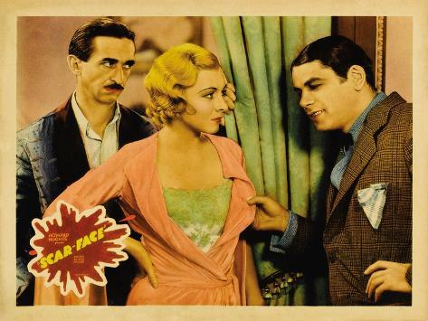 Scarface, 1932 Reproduction d'art