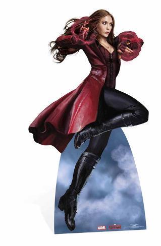Scarlet Witch - Marvel Civil War Silhouettes découpées en carton