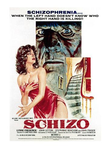 Schizo, 1976 Photographie