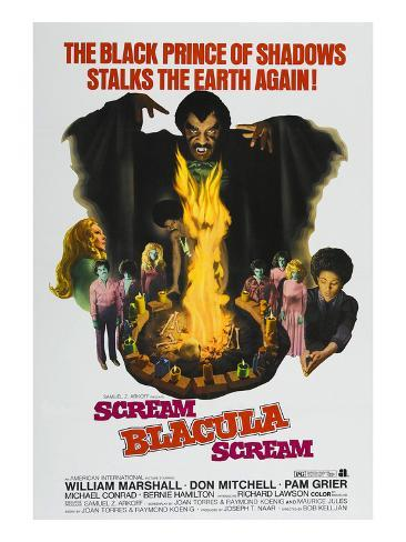 Scream Blacula Scream, 1973 Photographie