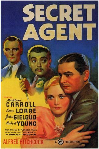 Secret Agent Affiche originale