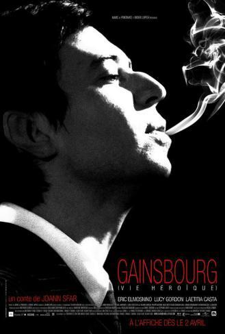 Serge Gainsbourg, vie heroique - Canadian Style Poster