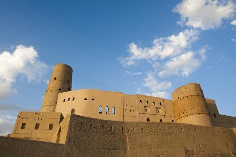 Bahla Castle, Oman. Reproduction photographique