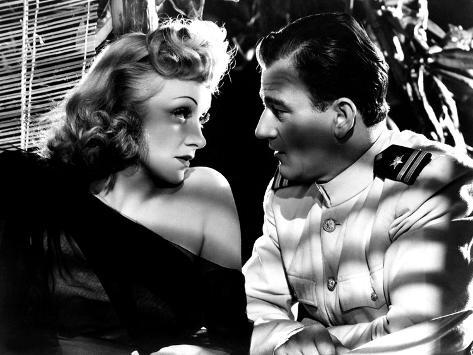 Seven Sinners, Marlene Dietrich, John Wayne, 1940 Photographie