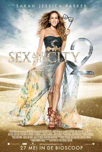 Sex and The City 2 - Netherlands Style Poster