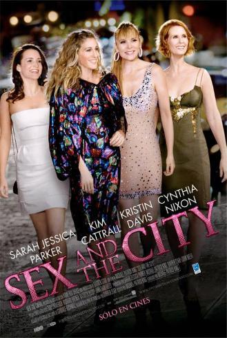 Sex and The City: The Movie - Argentine Style Poster