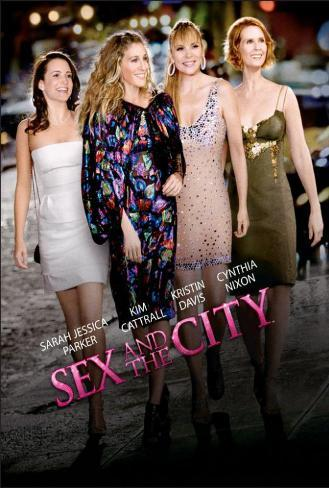 Sex and The City: The Movie - Danish Style Poster