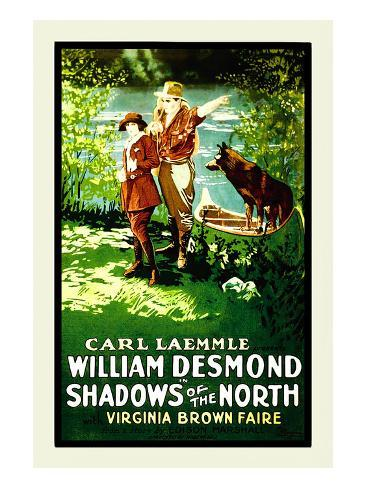Shadows of the North Reproduction d'art