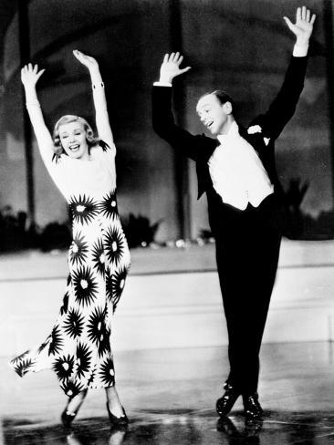 Shall We Dance, Ginger Rogers, Fred Astaire, 1937 Photographie