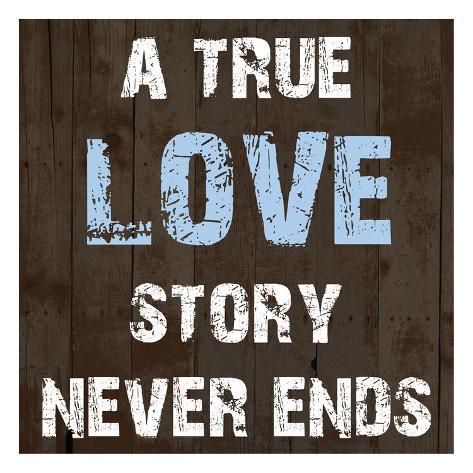 Love Story Reproduction d'art