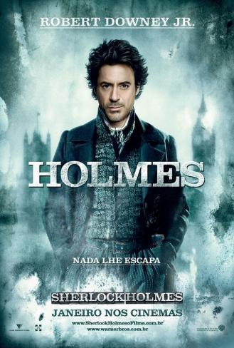 Sherlock Holmes - Brazilian Style Poster