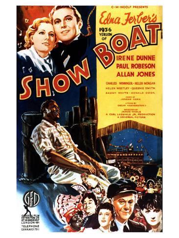 Show Boat, 1936 Reproduction d'art