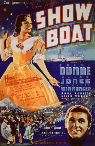 Show Boat Affiche originale