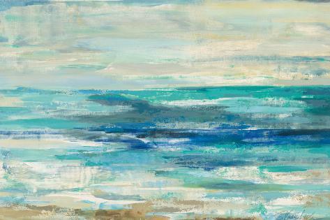 Shimmering Sea Reproduction d'art