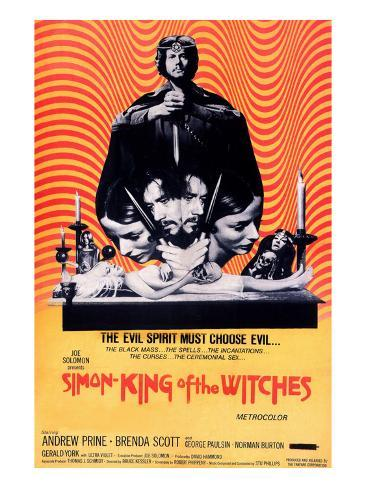 Simon, King of the Witches, Andrew Prine, 1971 Photographie