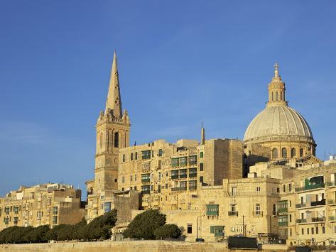 Valletta, Malta, Europe Reproduction photographique