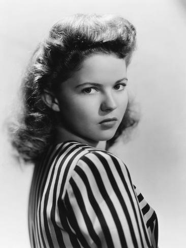 Since You Went Away, Shirley Temple, 1944 Photographie