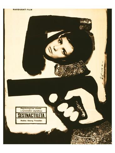 Sixteen-Year Old-Sestnactileta Reproduction d'art