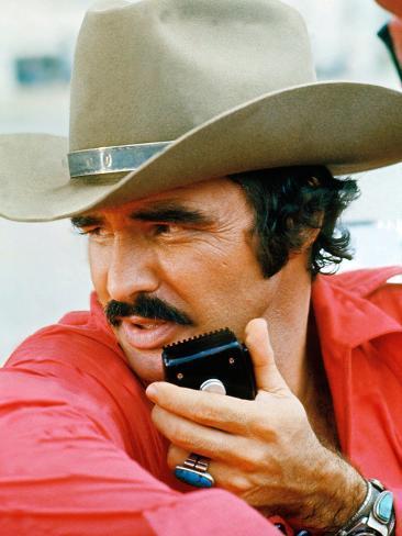 Smokey And The Bandit, Burt Reynolds, 1977 Photographie