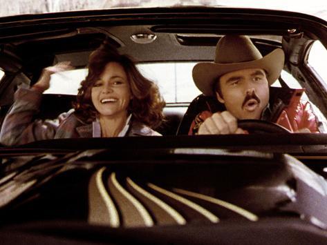 Smokey And The Bandit, Sally Field, Burt Reynolds, 1977 Photographie