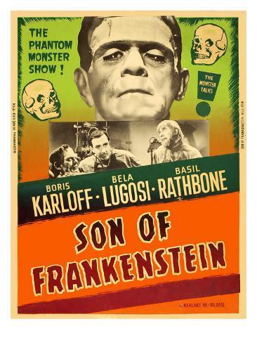 Son of Frankenstein, 1939 Photographie