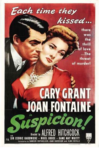 Soupçons|Suspicion Affiche originale